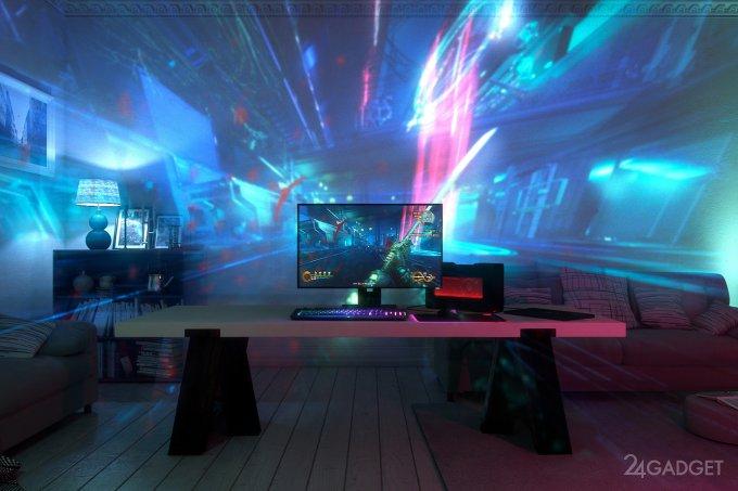 Razer Project Ariana транслирует игровой процесс на всю стену (12 фото + 2 видео)