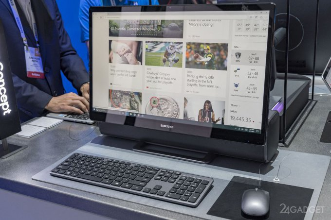 Samsung All-In-One PC — наполовину моноблок, наполовину саундбар (8 фото + видео)