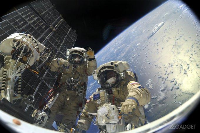 Космонавты рассказали, как отметили Новый год на МКС (видео)