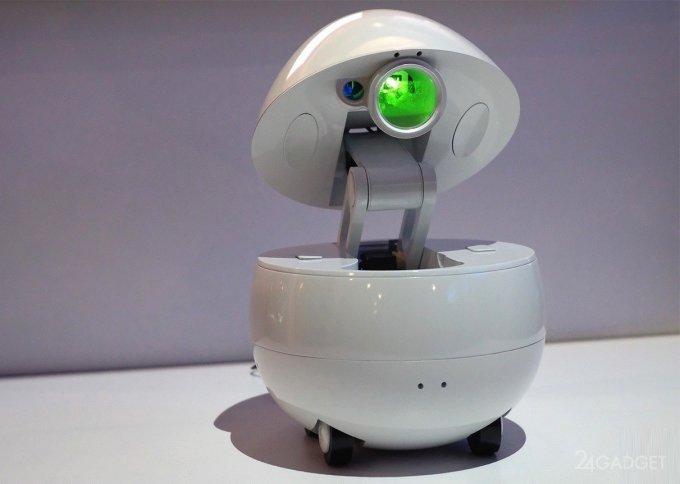 Робот-компаньон от Panasonic похож на яйцо (6 фото + видео)