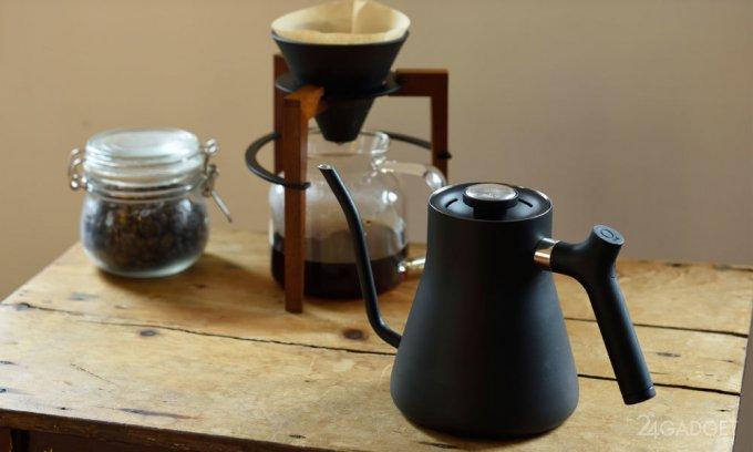 Умная электрокофеварка для кофемана (6 фото + видео)