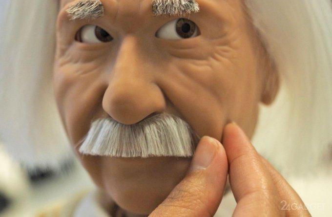 Робот Эйнштейн возьмется за обучение детей (8 фото + 2 видео)