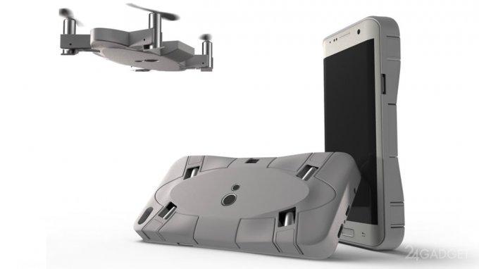 Selfly — чехол для смартфона с дроном внутри (5 фото + видео)