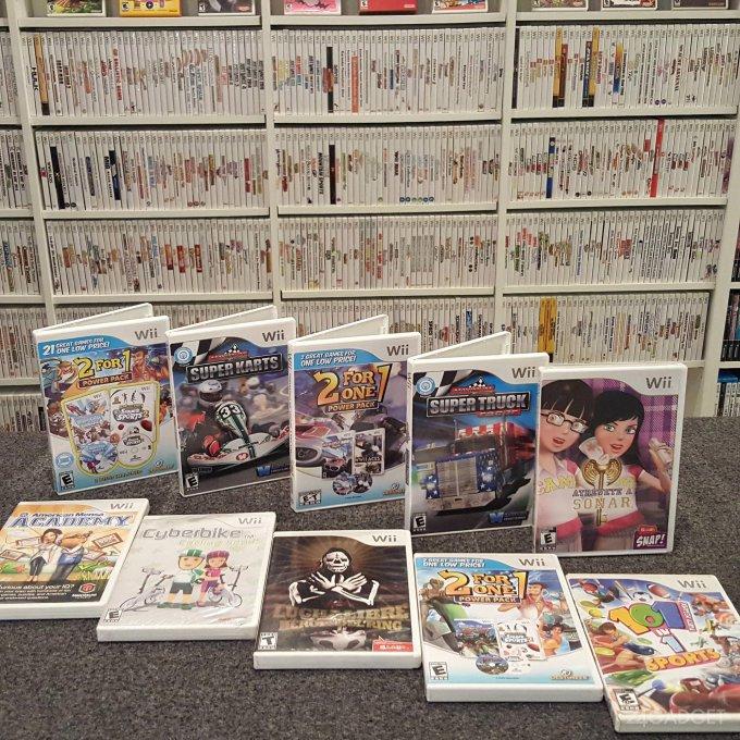 Геймер собрал 1262 игры для Nintendo Wii (4 фото + видео)