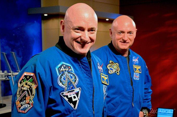 Астронавт помолодел за год пребывания в космосе