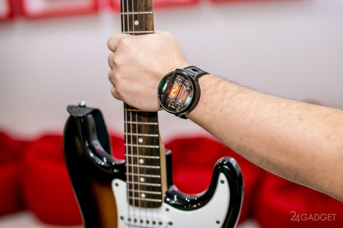 Ламповые наручные часы (9 фото + видео)