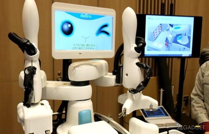 Робот duAro поможет Apple обслуживать клиентов (видео)