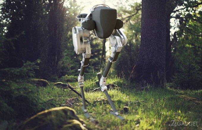Громоздкого робота-бегуна ATRIAS трансформировали в элегантного Cassie (2 видео)