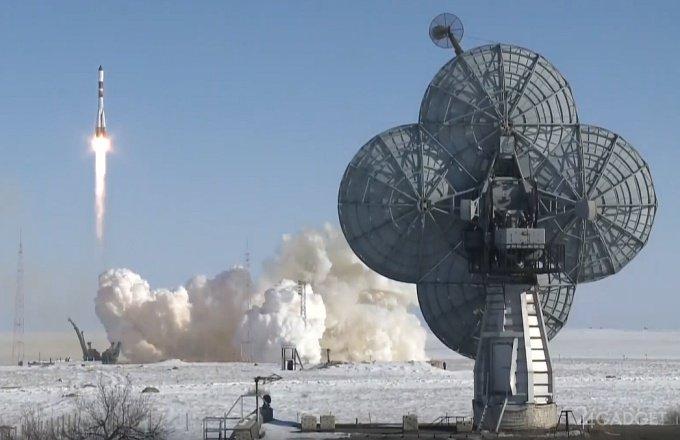 Космический грузовик Прогресс МС-05 вышел на орбиту и взял курс к МКС (2 видео)