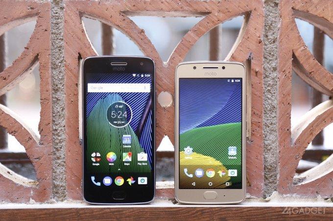 G5 и G5 Plus — первые смартфоны Lenovo под брендом Moto (15 фото + 2 видео)