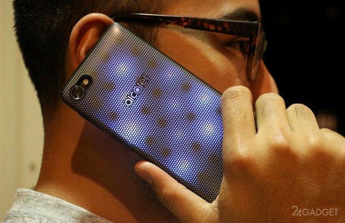 Смартфон Alcatel A5 LED с цветомузыкой и другие новинки Alcatel (15 фото + видео)