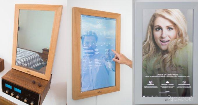 Умное зеркало с возможностями планшета (21 фото + видео)