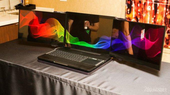 Блогер показал, как сделать аналог трёхэкранного ноутбука Razer (видео)