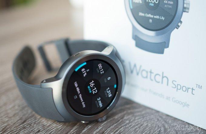 Представлены смарт-часы LG Watch Sport и LG Watch Style на Android Wear 2.0 (16 фото + 2 видео)