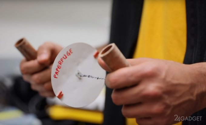 Ученые создали центрифугу для крови стоимостью 20 центов (видео)