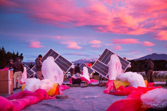 В Project Loon изменят стратегию покрытия Земли интернет-шарами (3 фото)