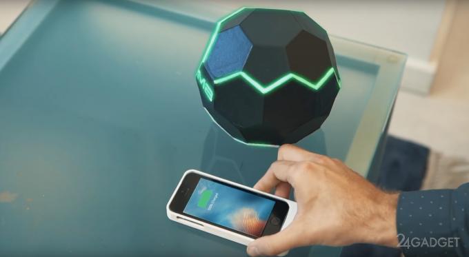 MotherBox заряжает гаджеты по воздуху на расстоянии полуметра (5 фото + видео)