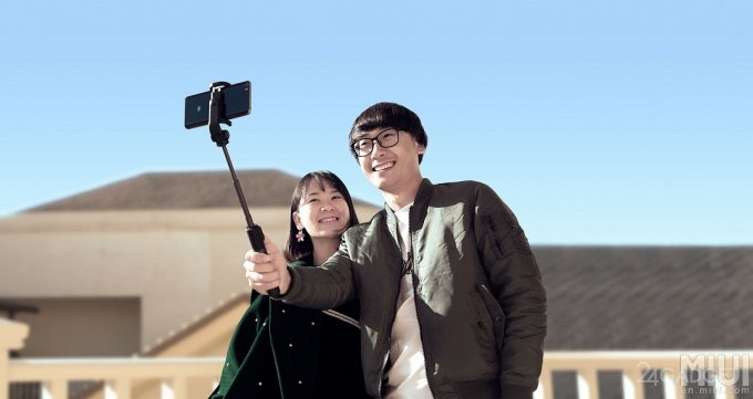 Xiaomi представил монопод-трансформер для селфи (8 фото)