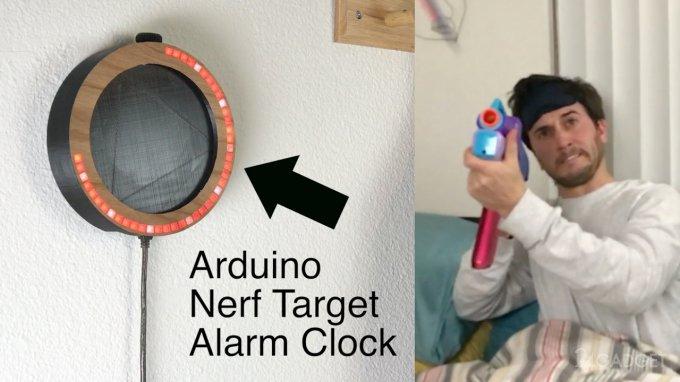 Хочешь выключить будильник? Расстреляй его! (видео)