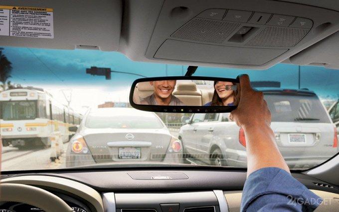 В помощь автомобилистам — умное зеркало заднего вида от Xiaomi (16 фото + видео)