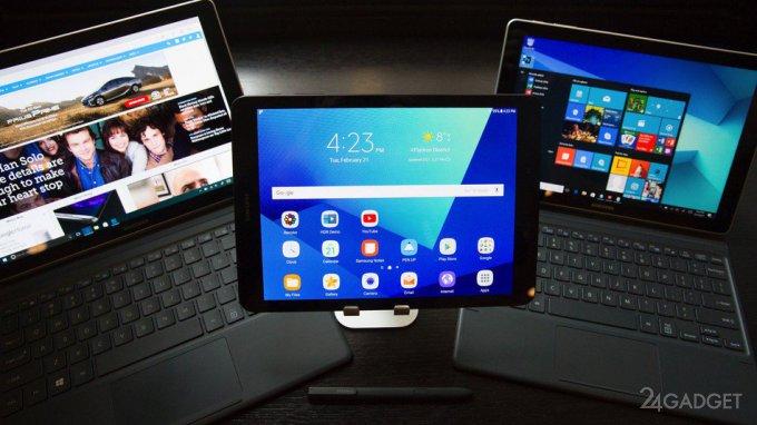 На MWC 2017 Samsung представила новые планшеты (16 фото + 2 видео)