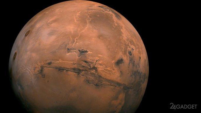 """NASA показало """"сердце"""" Марса (видео)"""