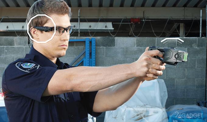 В США табельное оружие автоматически включит камеру полицейского