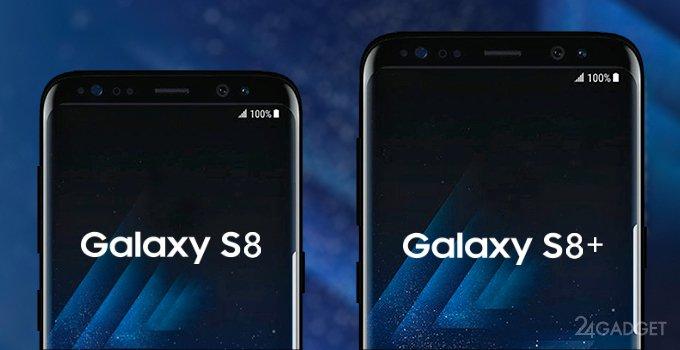 Неанонсированные Galaxy S8 и S8 Plus сравнили с S7, S7 edge, LG G6, iPhone 7 Plus и Pixel XL(5 фото)