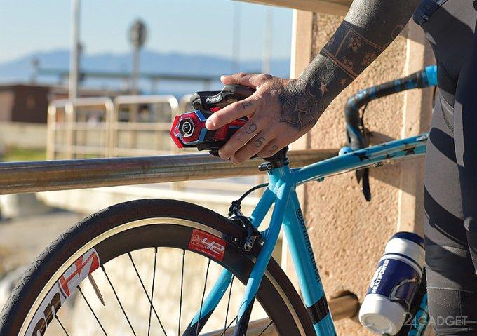 Многофункциональный видеорегистратор для велосипедиста (11 фото + 2 видео)