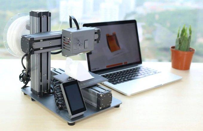 Недорогой 3D-принтер с дополнительными возможностями (9 фото + видео)