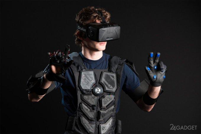 VR-жилет позволит ощутить виртуальную реальность (8 фото + видео)