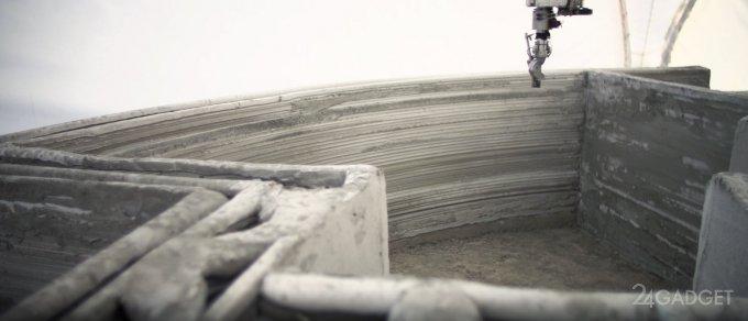 Стартап из Иркутска потратил 600 000 рублей, чтобы за сутки напечатать дом (9 фото + видео)