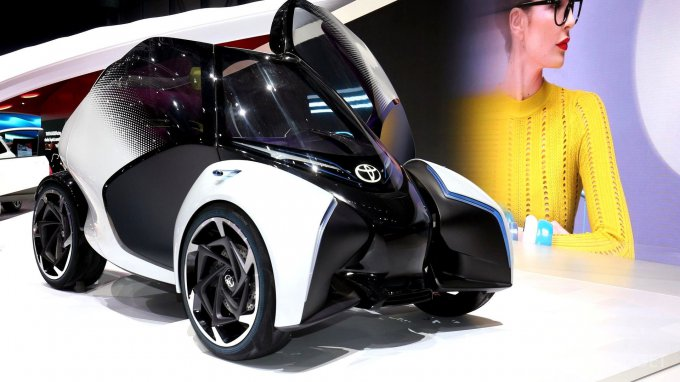 Концептуальное авто i-TRIL от Toyota (19 фото + видео)
