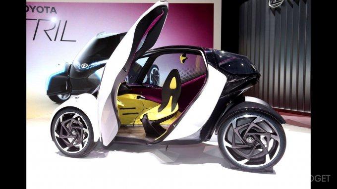 Концептуальный электрокар i-Tril Concept от Toyota