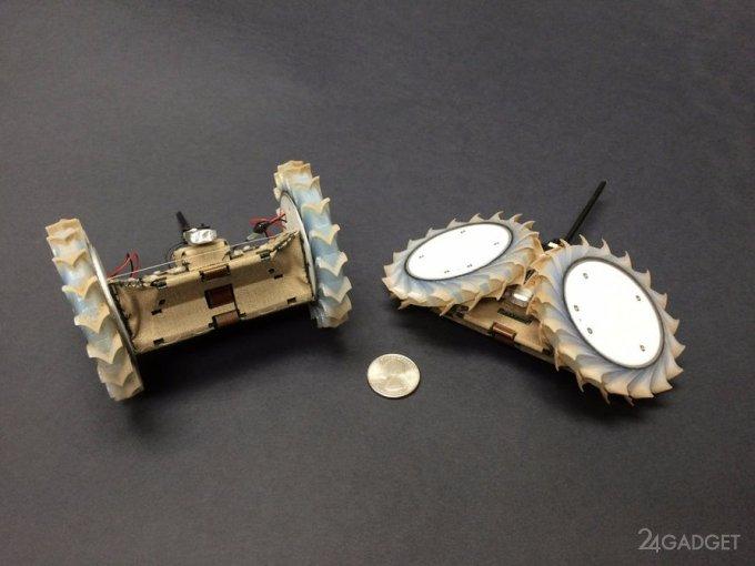 Робот-оригами для исследования Марса (2 фото + видео)
