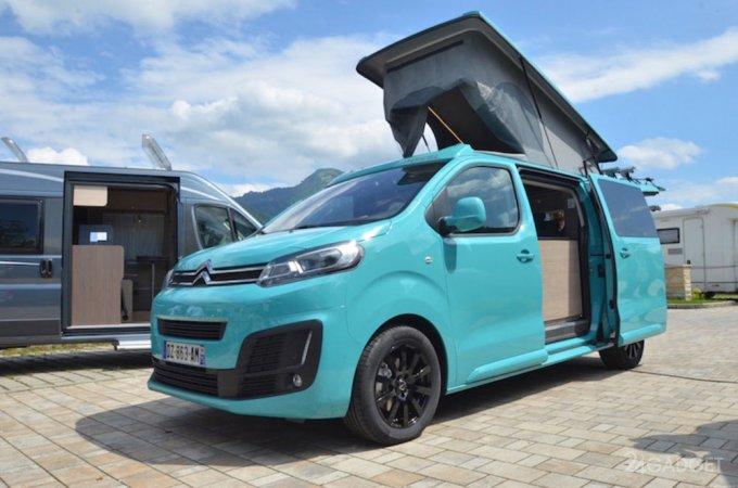 Citroen создал фургон для путешествий (24 фото)