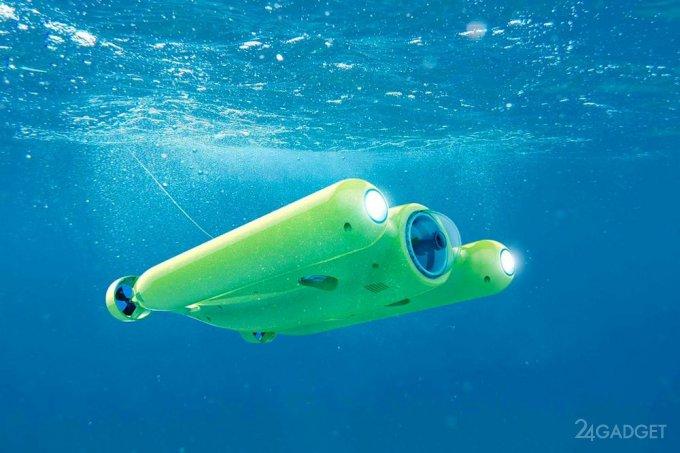 Подводный беспилотник с камерой 4K (10 фото + видео)