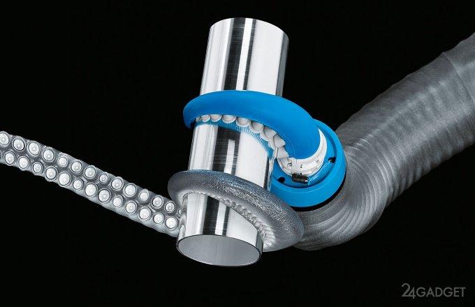 Новый робот Festo — бионическое щупальце осьминога (3 фото + видео)