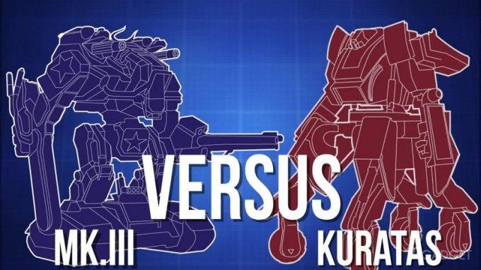 Бой роботов-гигантов Mk.III и Kuratas состоится этим летом (10 фото + видео)