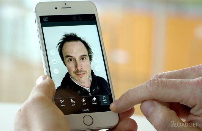 Приложение Adobe превратит неудачное селфи в качественный портрет (видео)