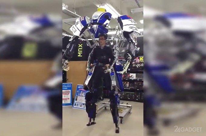 Воинственный экзоскелет из онлайн-шутера Figureheads (3 видео)