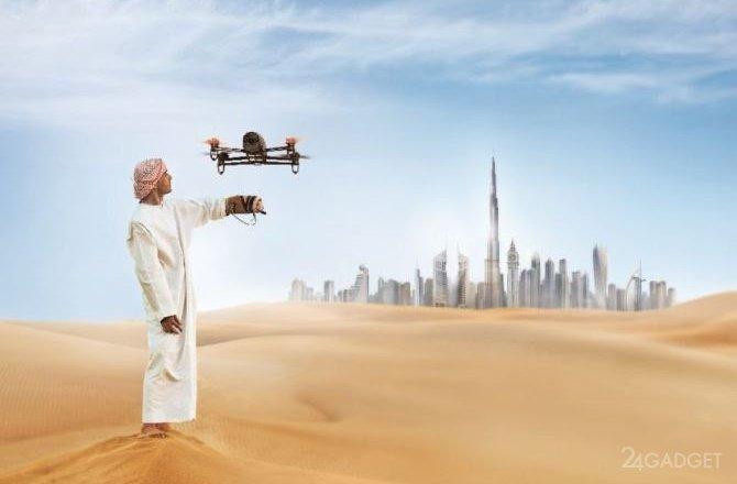В Дубае начнут требовать лицензию при покупке дрона