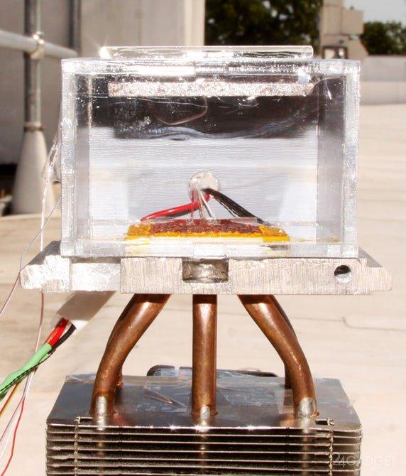 Создан персональный генератор воды для заблудившихся впустыне