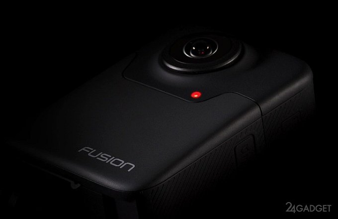 GoPro показала 360-градусную камеру Fusion