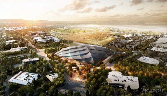 Новая штаб-квартира Google (18 фото)
