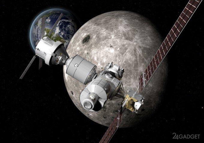 Космические аппараты для исследования Луны и Марса от Boeing (2 фото)