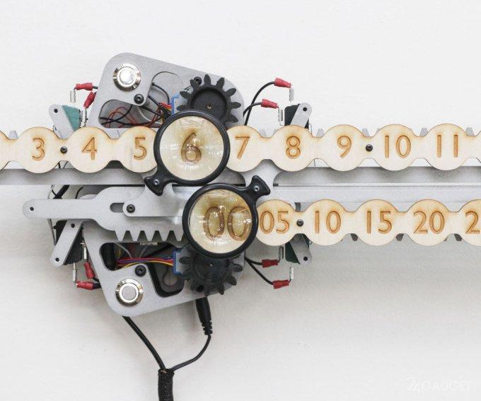 «Линейные» часы можно сделать самостоятельно (3 фото + видео)