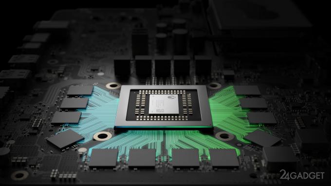 Раскрыты характеристики консоли Xbox Project Scorpio (6 фото + видео)