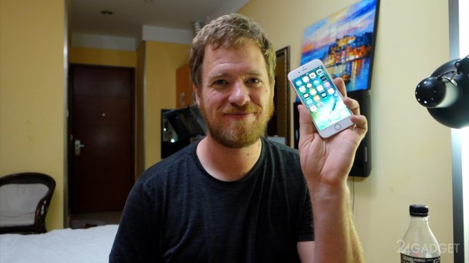 Рабочий iPhone 6s собрали из запчастей (видео)