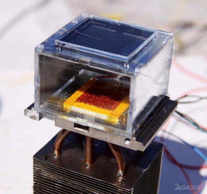 Ученые создали куб для извлечения влаги извоздуха